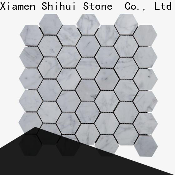 Shihui stone mosaic backsplash from China for toilet