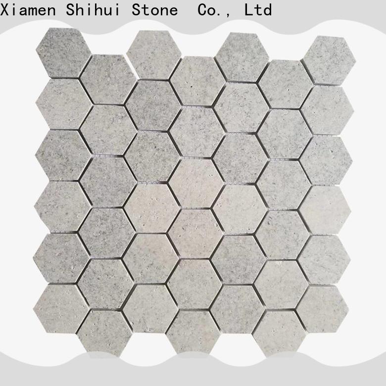 Shihui stone mosaic backsplash customized for toilet