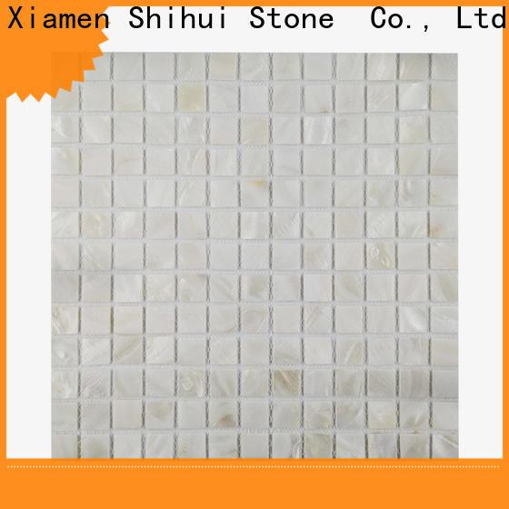 Shihui oriental tile stone mosaic manufacturer for bathroom