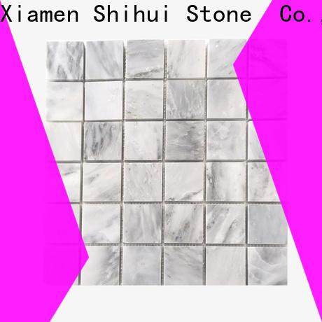 practical stone mosaic tile backsplash series for bathroom