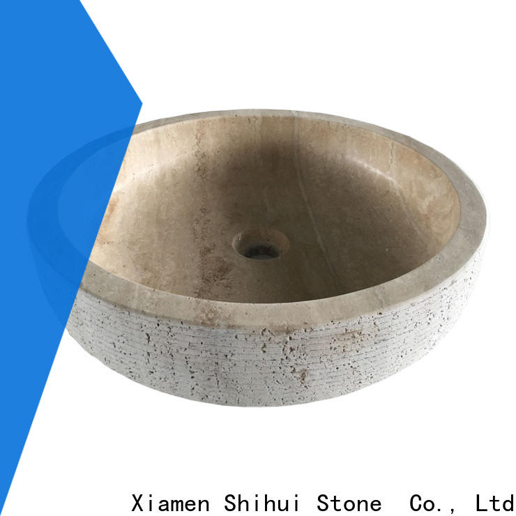 certificated natural stone basin wholesale for bar