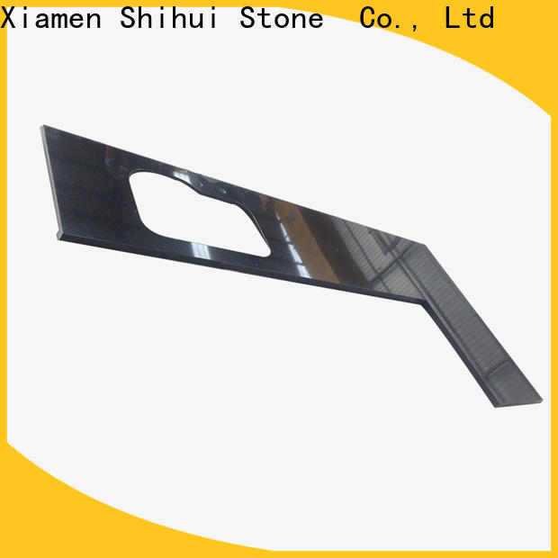 Shihui santo cultured stone countertop factory price for bathroom