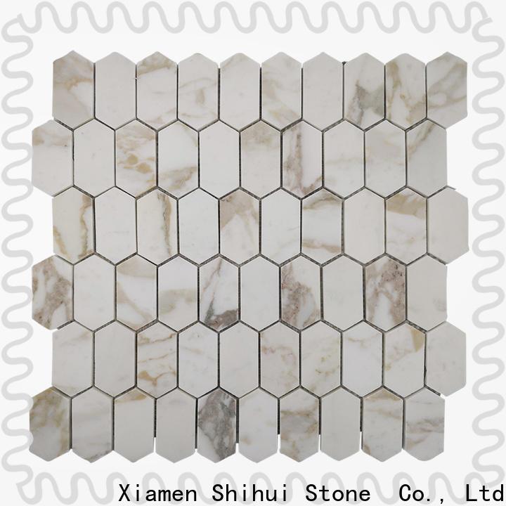 grey natural stone mosaic tiles manufacturer for indoor