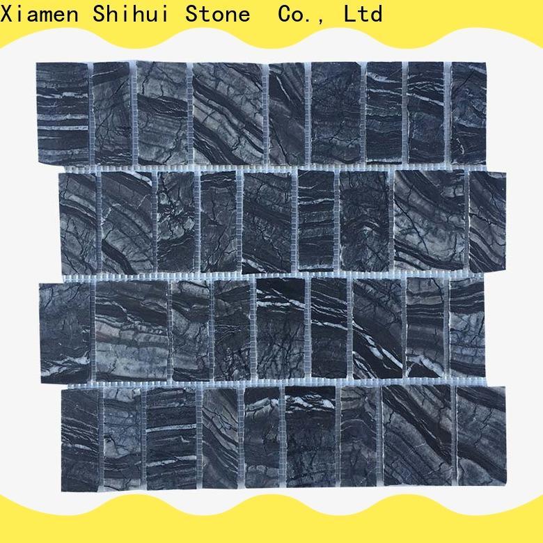 Shihui durable stone mosaic backsplash customized for household