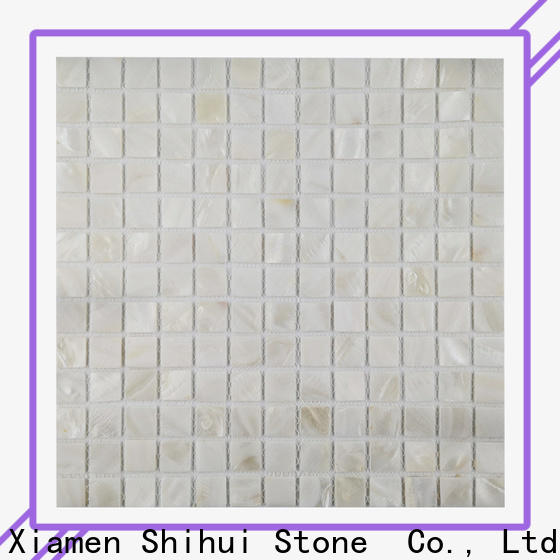Shihui square natural stone mosaic tiles customized for household