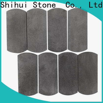 basalt natural stone mosaic tiles from China for toilet
