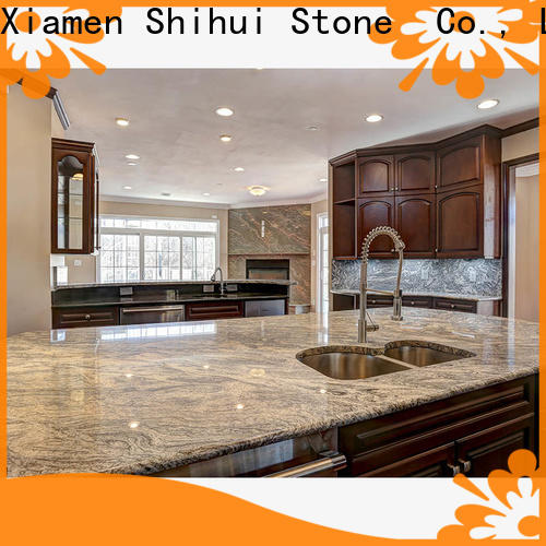 stable manufactured stone countertops personalized for kitchen