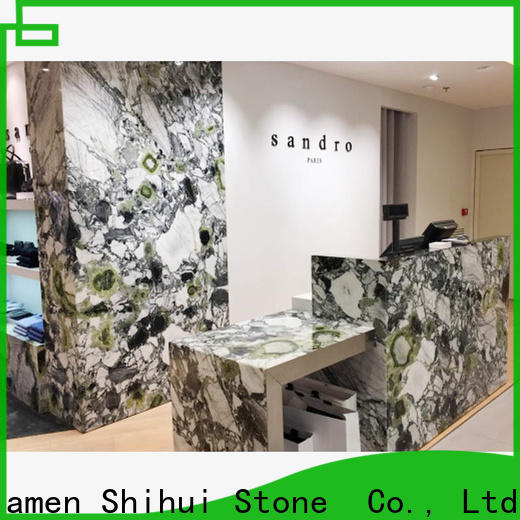 juparana cultured stone countertop wholesale for kitchen