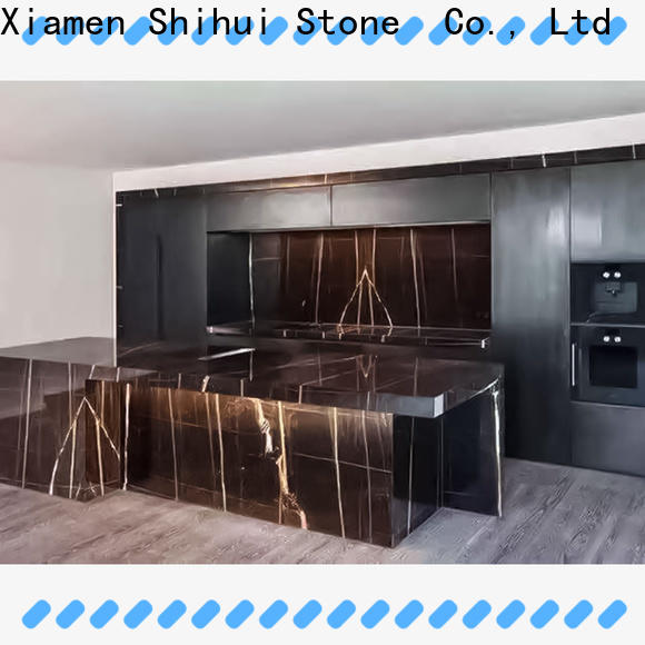 santo manmade stone countertops personalized for hotel