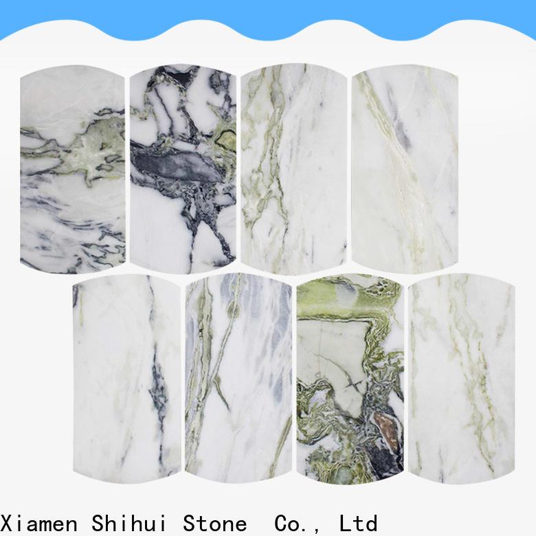Shihui durable stone mosaic backsplash from China for household
