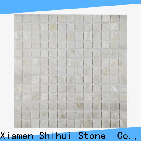 Shihui ivory natural stone mosaic tiles series for indoor