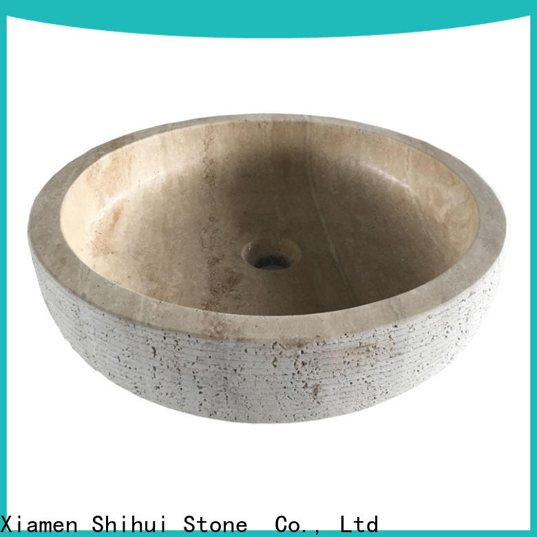 Shihui natural stone sink basin factory price for bathroom