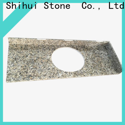 Shihui artificial engineered stone countertops factory price for bathroom