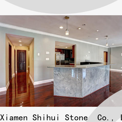 Shihui sturdy manmade stone countertops factory price for hotel