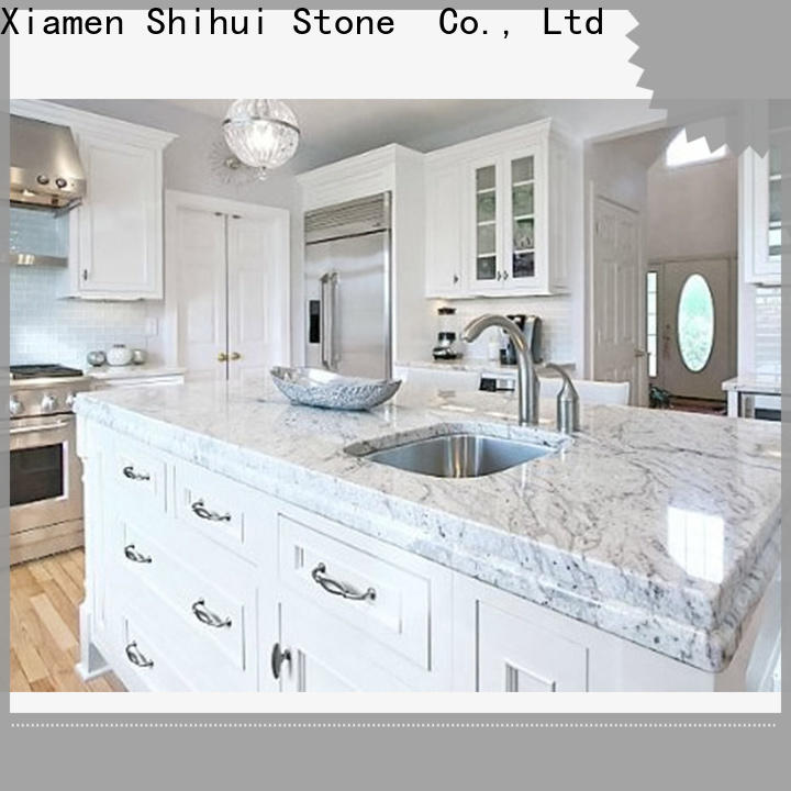 black top stone countertops factory price for bathroom