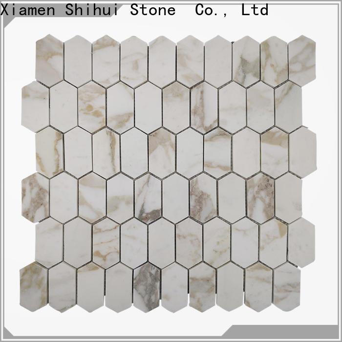 Shihui stone mosaic tile backsplash manufacturer for bathroom