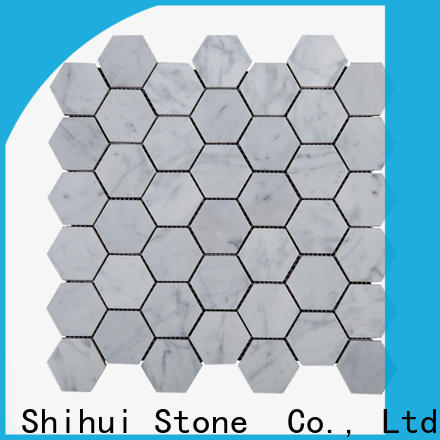 Shihui oriental tile stone mosaic customized for indoor