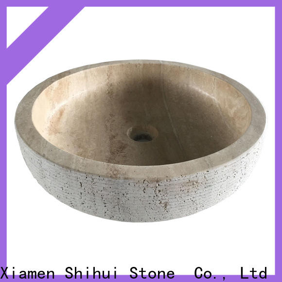 certificated stone sink personalized for hotel