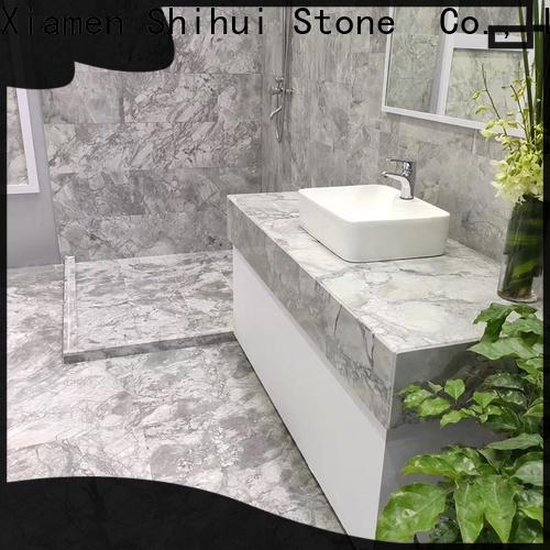 excellent natural stone marble tile with good price for toilet