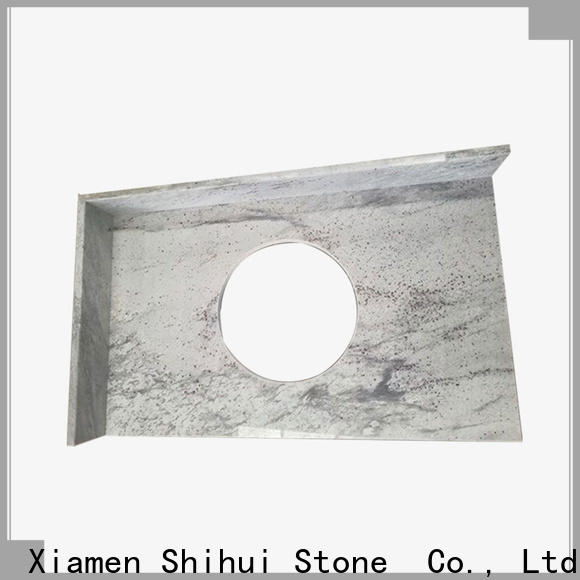 sturdy manufactured stone countertops personalized for bathroom