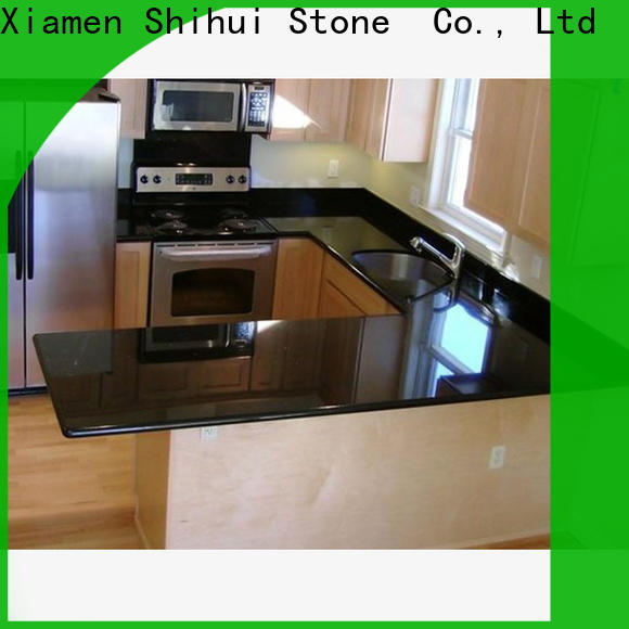 calacatta manmade stone countertops factory price for bathroom