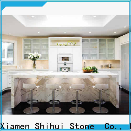 Shihui brown best stone kitchen countertops wholesale for bathroom