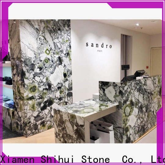 certificated cultured stone countertop factory price for kitchen