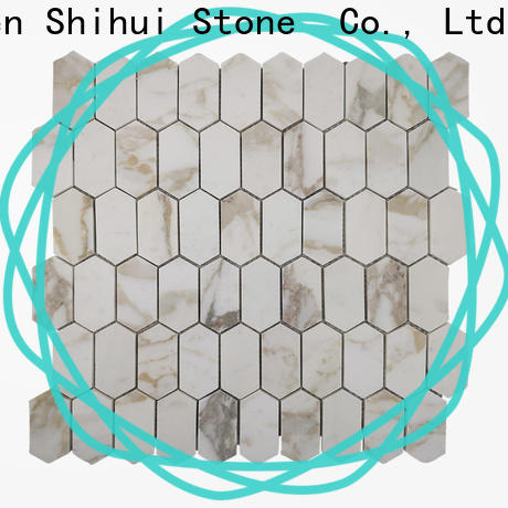 Shihui grey tile stone mosaic directly sale for household