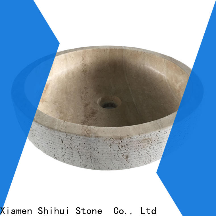 Shihui stable natural stone sink basin personalized for bar
