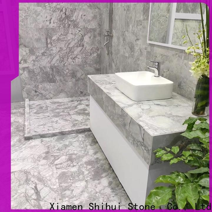 Shihui cost-effective natural marble tile with good price for household