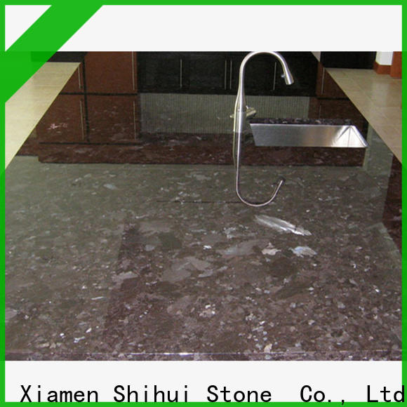 Shihui stable best stone kitchen countertops factory price for kitchen