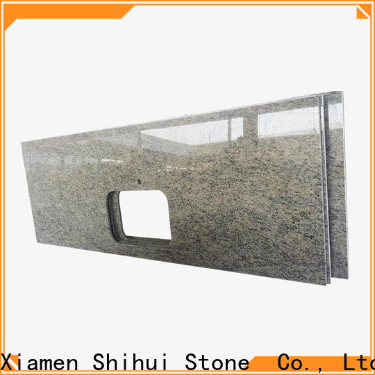 calacatta manufactured stone countertops factory price for hotel