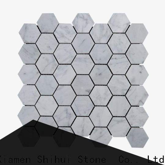 Shihui ivory natural stone mosaic tiles directly sale for household