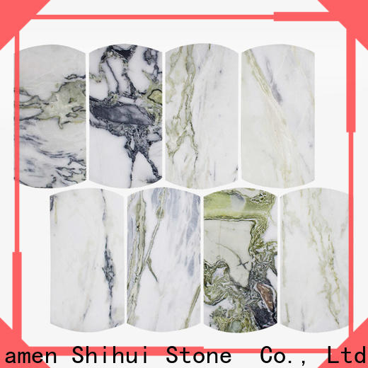 ivory natural stone tile mosaic from China for indoor