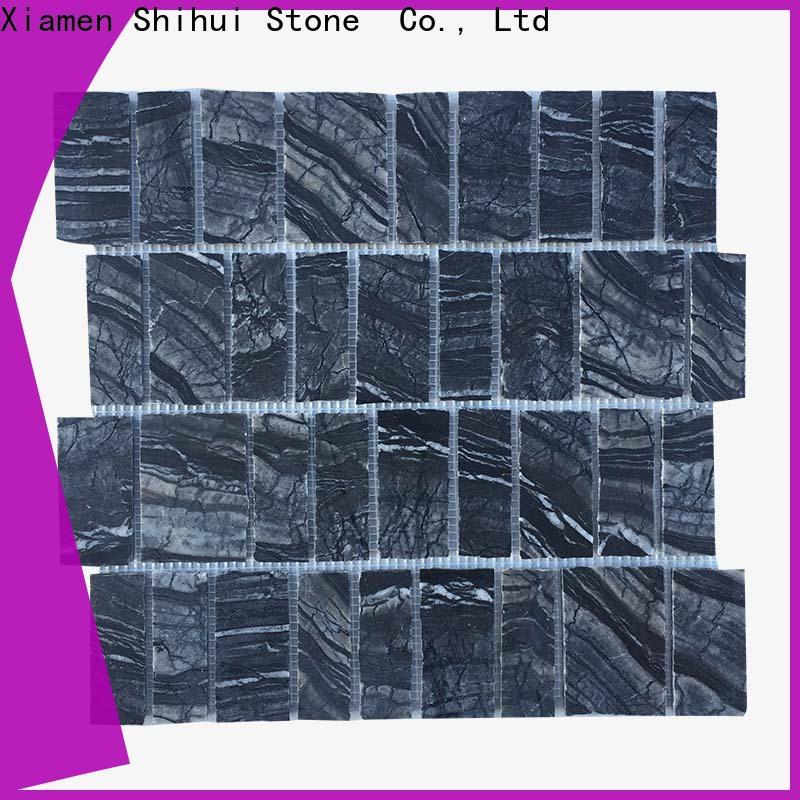 quality stone mosaic tile backsplash customized for indoor