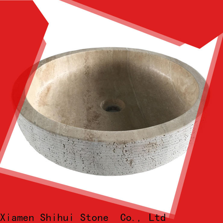 quality natural stone wash basin wholesale for bar