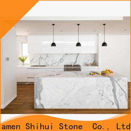 Shihui black stone countertop factory price for kitchen