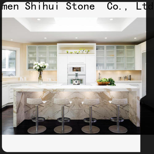 Shihui manufactured stone countertops factory price for bar