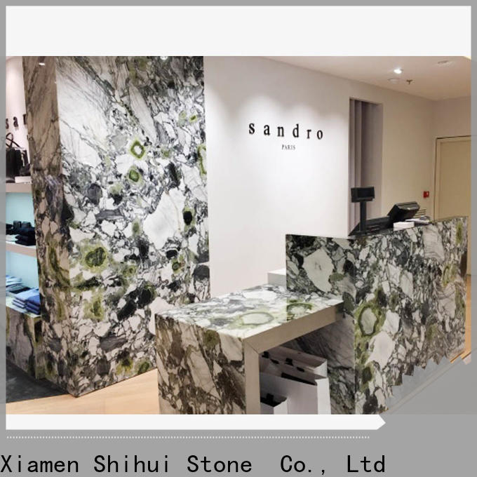 Shihui sturdy manufactured stone countertops supplier for kitchen