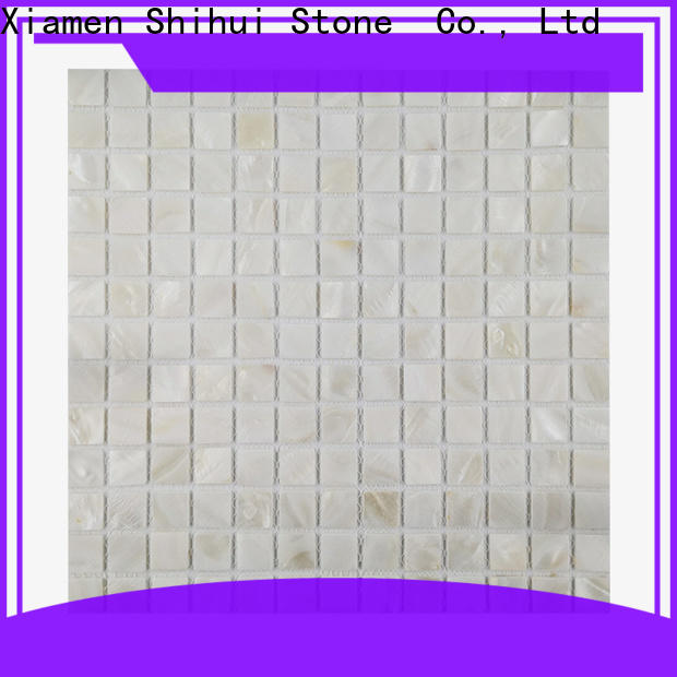 Shihui quality natural stone mosaic customized for toilet