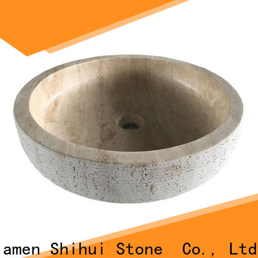 certificated natural stone sink personalized for hotel