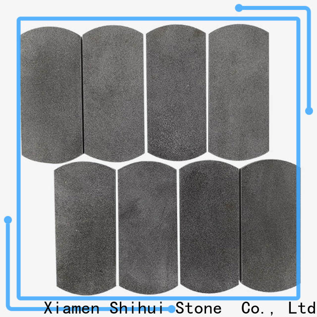 Shihui hexagon stone mosaic tile backsplash directly sale for toilet