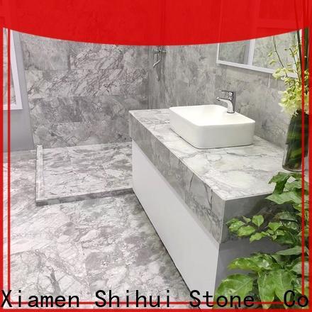 Shihui marble stone tile design for bathroom