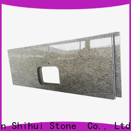 Shihui certificated solid stone countertops factory price for kitchen