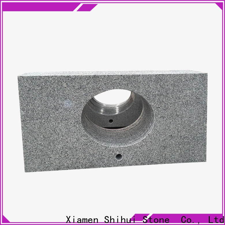 Shihui stone slab countertop factory price for bathroom