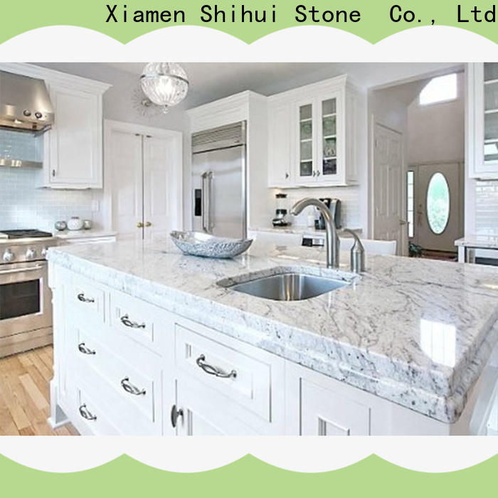 Shihui stable cultured stone countertop factory price for bathroom