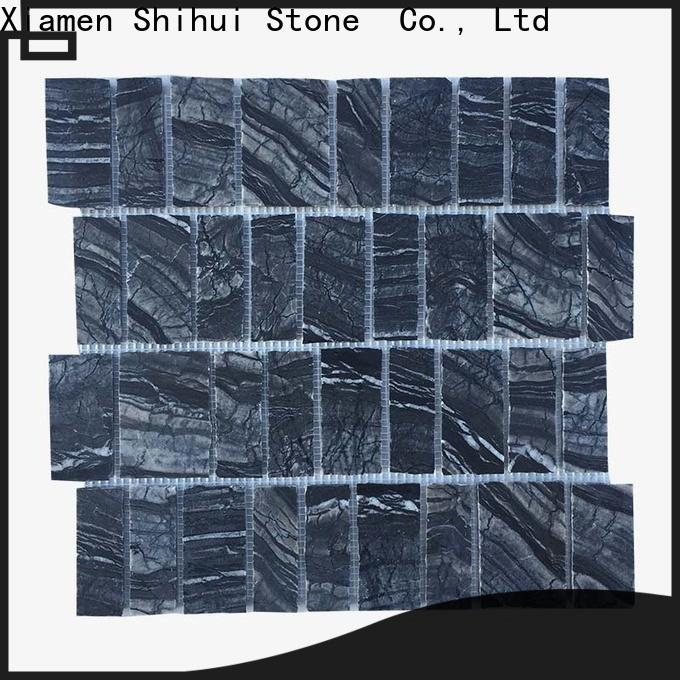 Shihui durable tile stone mosaic customized for indoor