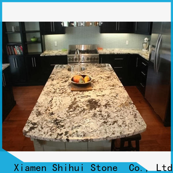 artificial manufactured stone countertops supplier for bathroom
