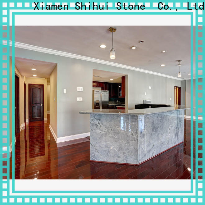 certificated manmade stone countertops personalized for kitchen