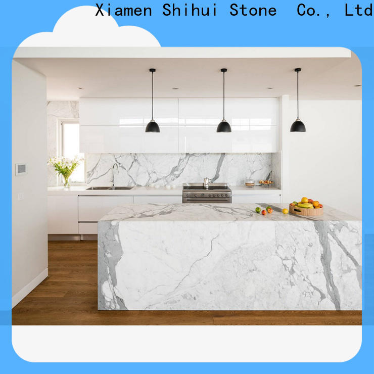 Shihui certificated manmade stone countertops supplier for hotel